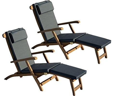 Teakholz Gartenmobel Deckchair