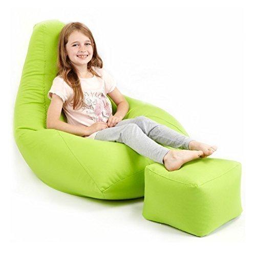 garten sitzsack limettengr n test. Black Bedroom Furniture Sets. Home Design Ideas