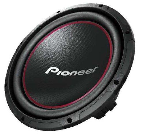 pioneer ts w304r 30 cm auto subwoofer 95db 1300 watt test. Black Bedroom Furniture Sets. Home Design Ideas