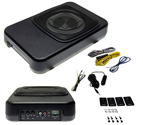 kfz aktiv subwoofer 20cm car hifi von adapter universe test. Black Bedroom Furniture Sets. Home Design Ideas