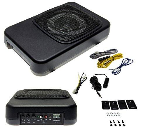 kfz aktiv subwoofer 20cm car hifi von adapter universe test. Black Bedroom Furniture Sets. Home Design Ideas
