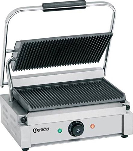 bartscher a150674 profi kontakt elektrogrill panini test. Black Bedroom Furniture Sets. Home Design Ideas