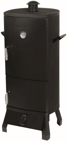 el fuego gasgrill smoker portland 55x105x45 cm test. Black Bedroom Furniture Sets. Home Design Ideas