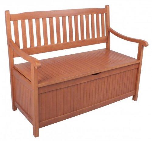 gartenbank houston mit aufbewahrung ge lt test. Black Bedroom Furniture Sets. Home Design Ideas