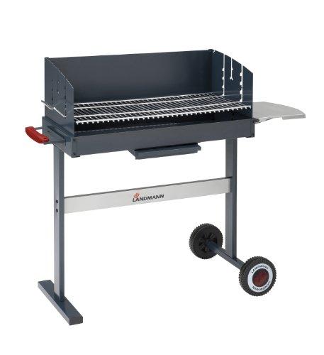 landmann holzkohle grill compact 700 109x43x85cm test. Black Bedroom Furniture Sets. Home Design Ideas