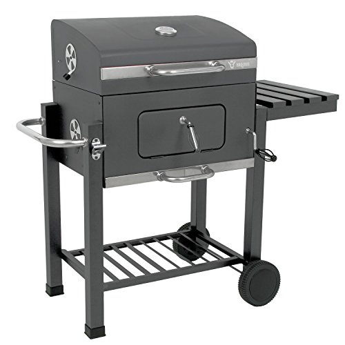 bbq bull luxus0 butternut holzkohle grill smoker test. Black Bedroom Furniture Sets. Home Design Ideas