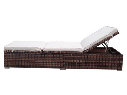 rattan gartenliege test. Black Bedroom Furniture Sets. Home Design Ideas