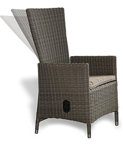 gartensessel polyrattan grau meliert test. Black Bedroom Furniture Sets. Home Design Ideas
