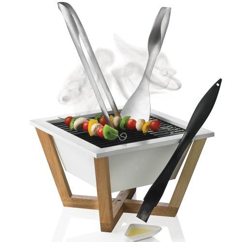 Xd tischgrill design bbq grill nido test for Tischgrill design