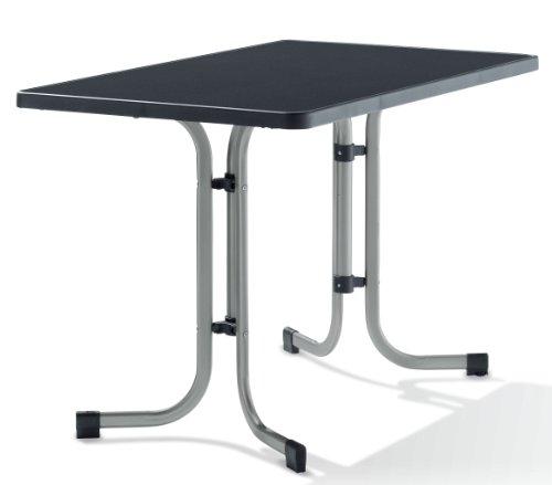 sieger gartentisch 115x70cm anthrazit test. Black Bedroom Furniture Sets. Home Design Ideas