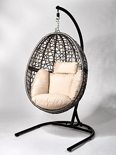 h ngesessel polyrattan test. Black Bedroom Furniture Sets. Home Design Ideas