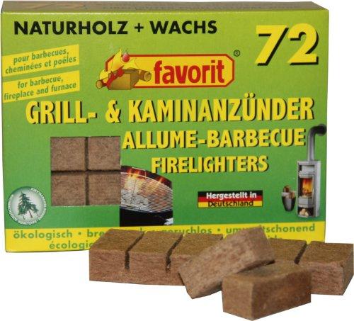 Favorit 1828 Grillanzünder Kaminanzünder aus Naturholz Anzünder