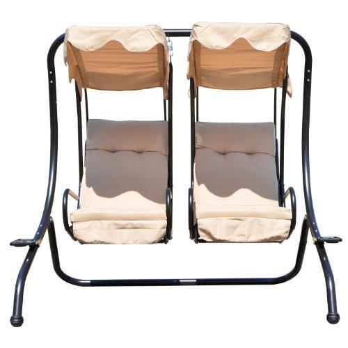 hollywoodschaukel 2 sitzer test. Black Bedroom Furniture Sets. Home Design Ideas
