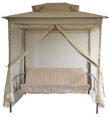 hollywoodschaukel in beige test. Black Bedroom Furniture Sets. Home Design Ideas