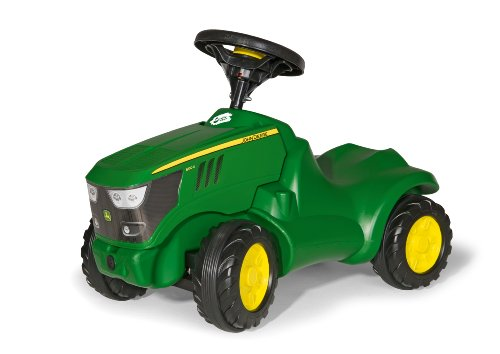 rolly toys rollyminitrac john deere 6150r bobby car test. Black Bedroom Furniture Sets. Home Design Ideas