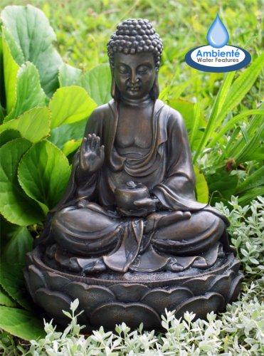 Zierbrunnen gartenbrunnen buddha test - Gartenbrunnen buddha ...