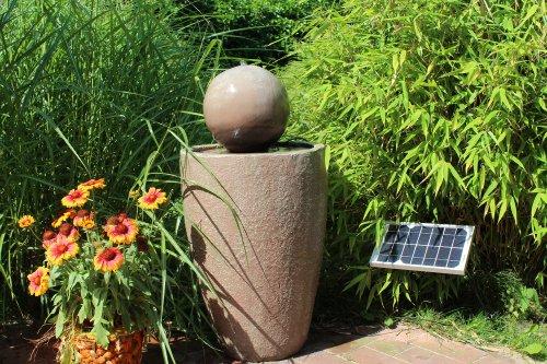 solar springbrunnen 80 cm test. Black Bedroom Furniture Sets. Home Design Ideas