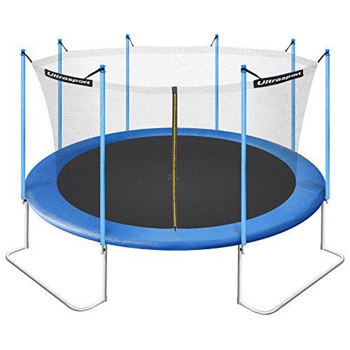 ultrasport jumper trampolin inkl sicherheitsnetz test. Black Bedroom Furniture Sets. Home Design Ideas