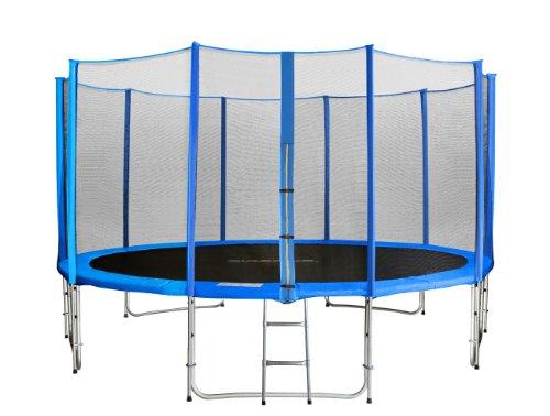 sixbros sixjump 4 30 m garten trampolin blau intertek test. Black Bedroom Furniture Sets. Home Design Ideas