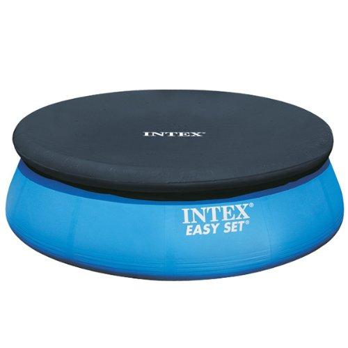 intex poolabdeckung easy set pool 244 cm test. Black Bedroom Furniture Sets. Home Design Ideas