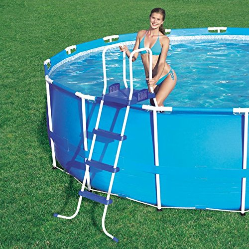 Bestway 58097 poolleiter 122 cm test for Garten pool testbericht
