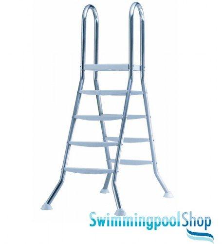 Poolleiter edelstahl 1 20 m schwimmbadleiter test for Quick up pool 120 hoch