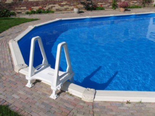 Interline 7 01 6100 n b kunststoff poolleiter bild 3 for Kunststoff pool rund