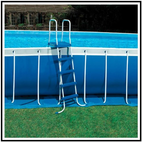 Intex poolleiter bis 132 cm h he mehrfarbig test for Garten pool testbericht