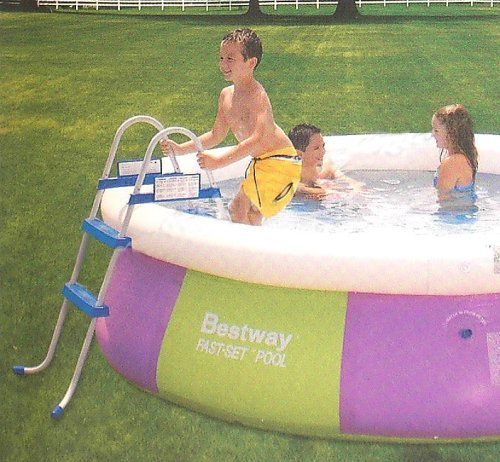 Bestway poolleiter f r quick up stahlrahmen pools 76cm test for Garten pool testbericht