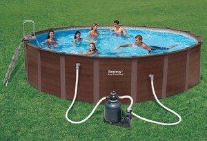 Bestway 56189gs royal frame pool stahlrahmen 549 cm test for Garten pool testbericht