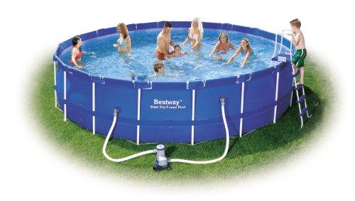 Bestway 56113gs frame pool stahlrahmenbecken set test for Garten pool testbericht