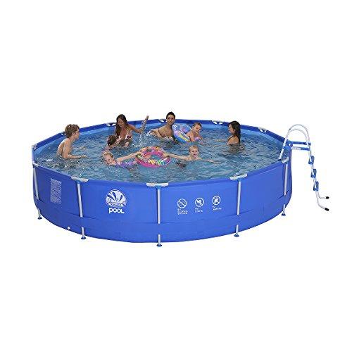 Jilong jl017236nd p41 stahlrahmenbecken pool test for Garten pool testbericht