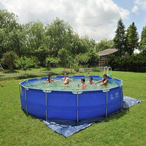 Jilong jl016093nd p43 stahlrahmenbecken pool test for Garten pool testbericht