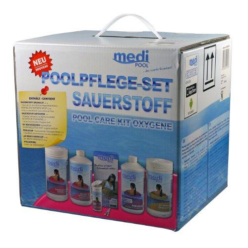 poolpflege sauerstoff medipool wasserpflege f r pool test. Black Bedroom Furniture Sets. Home Design Ideas