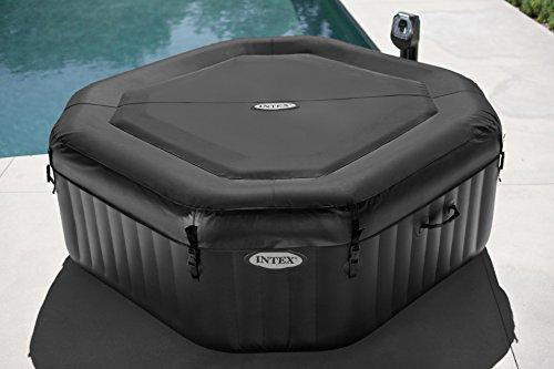 intex pure spa 79 zoll octagon whirlpool test. Black Bedroom Furniture Sets. Home Design Ideas