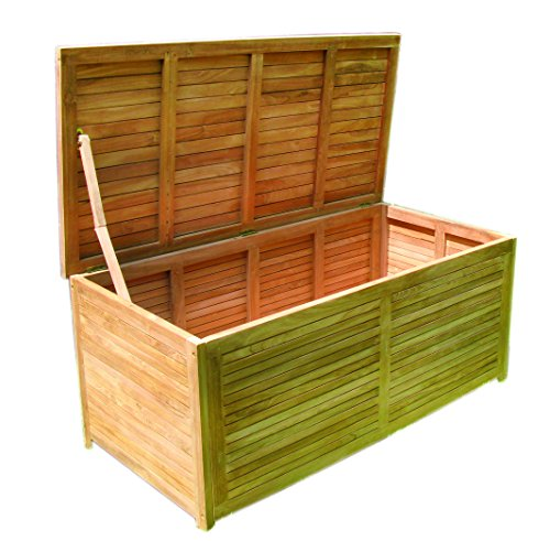 gartenbox holz aufbewahrungsbox 145x70x65cm test. Black Bedroom Furniture Sets. Home Design Ideas