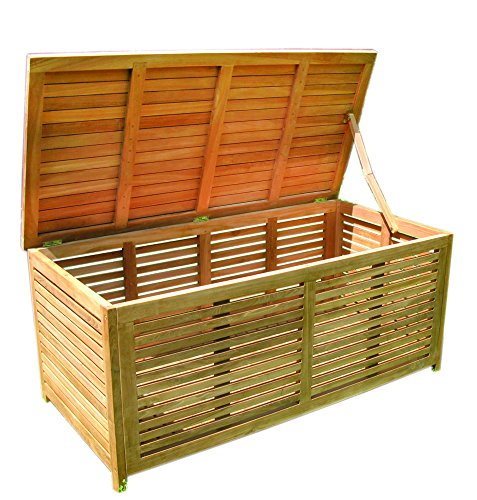 gartenbox gro holz offene lattung aufbewahrungsbox test. Black Bedroom Furniture Sets. Home Design Ideas