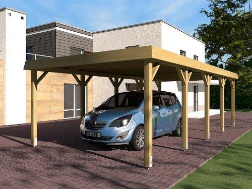 carport walmdach sauerland i 400 x 800 cm von prikker test. Black Bedroom Furniture Sets. Home Design Ideas