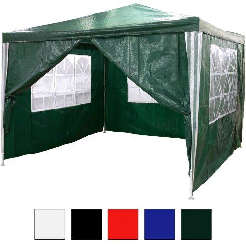gartenpavillon 3x3m wasserdicht von maxstore test. Black Bedroom Furniture Sets. Home Design Ideas