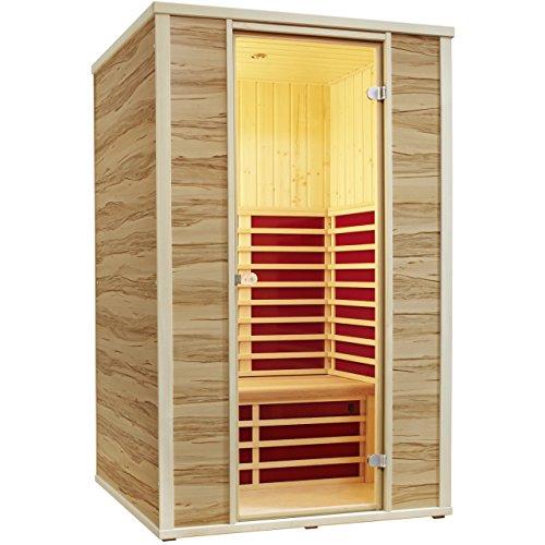 infraworld fusion 125 infrarotkabine gartensauna test. Black Bedroom Furniture Sets. Home Design Ideas