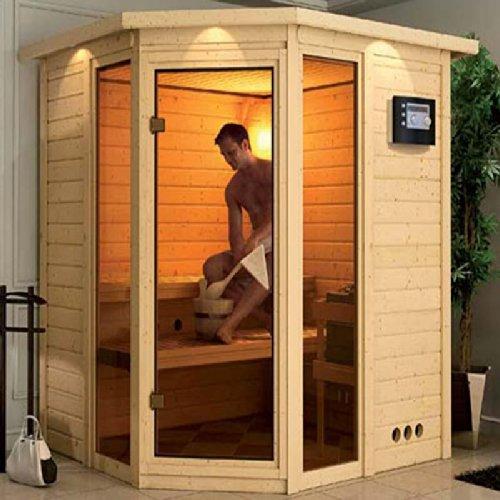 sinai 2 karibu gartensauna ohne ofen woodfeeling test. Black Bedroom Furniture Sets. Home Design Ideas