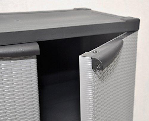 kunststoff schrank free toomax zr wood line s tief tren art grau with kunststoff schrank bden. Black Bedroom Furniture Sets. Home Design Ideas