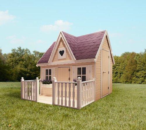Kinderspielhaus Holz Greenseason ~ promadino Veranda für Kinderspielehaus Schwalbennest Bild 1