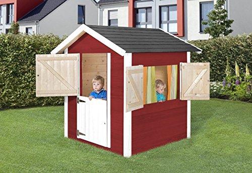 weka kinderspielhaus philipp rot weiss test. Black Bedroom Furniture Sets. Home Design Ideas