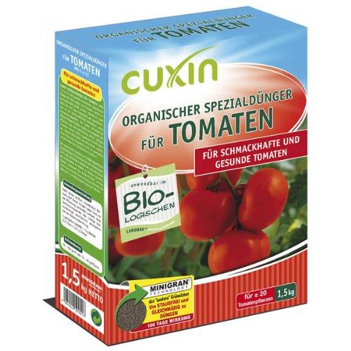 cuxin organischer gem sed nger f r tomaten 1 5 kg test. Black Bedroom Furniture Sets. Home Design Ideas