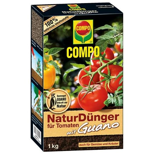 compo 11996 naturd nger f r tomaten mit guano 1 kg test. Black Bedroom Furniture Sets. Home Design Ideas