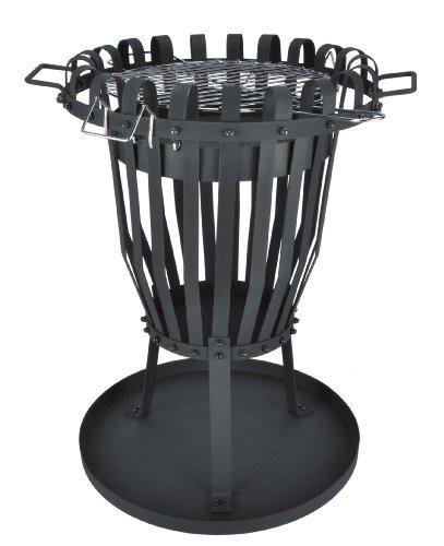 46010 feuerkorb mit grilleinsatz grill test. Black Bedroom Furniture Sets. Home Design Ideas