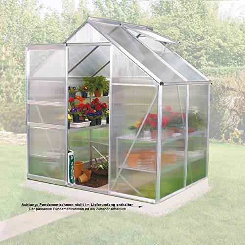 gew chshaus v 2500 alu 2 5 m2 mit hkp von gartenpirat test. Black Bedroom Furniture Sets. Home Design Ideas