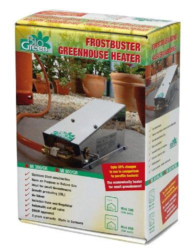 bio green gew chshausheizung frostw chter mini 800 w test. Black Bedroom Furniture Sets. Home Design Ideas