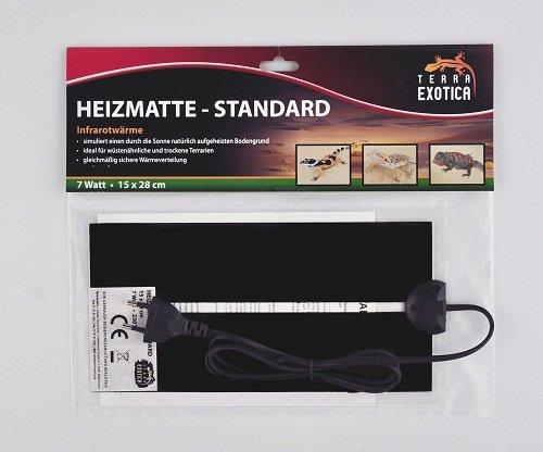 heizmatte zur anzucht standard 7 watt terra exotica test. Black Bedroom Furniture Sets. Home Design Ideas